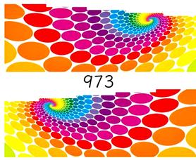 Naklejki wodne na paznokcie - 973
