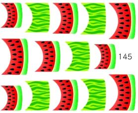 Naklejki wodne na paznokcie - 145