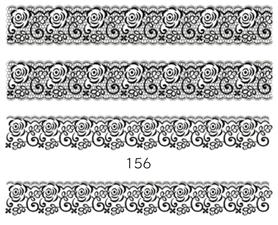 Naklejki wodne na paznokcie - 156