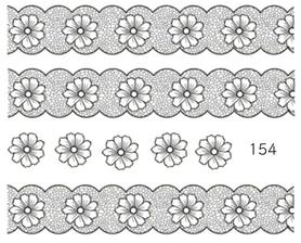 Naklejki wodne na paznokcie - 154