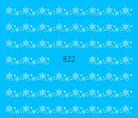 Naklejki wodne na paznokcie 822