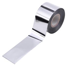 Folia transferowa - Srebrna - metaliczna - 10cm