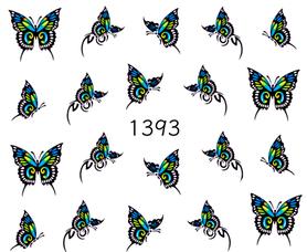 Naklejki wodne na paznokcie - 1393