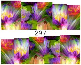 Naklejki wodne na paznokcie - 297