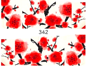 Naklejki wodne na paznokcie - 342