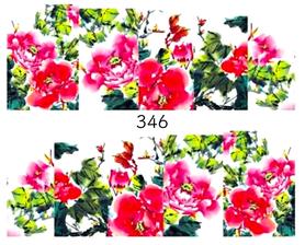 Naklejki wodne na paznokcie - 346