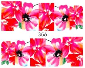 Naklejki wodne na paznokcie - 356