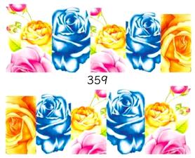 Naklejki wodne na paznokcie - 359