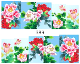 Naklejki wodne na paznokcie - 389
