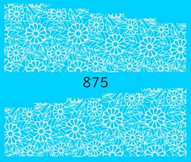 Naklejki wodne na paznokcie - 875