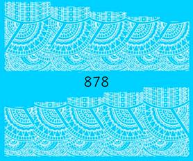 Naklejki wodne na paznokcie - 878