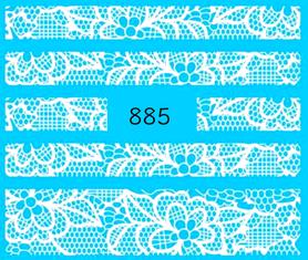 Naklejki wodne na paznokcie - 885