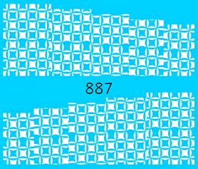 Naklejki wodne na paznokcie - 887