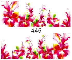 Naklejki wodne na paznokcie - 445