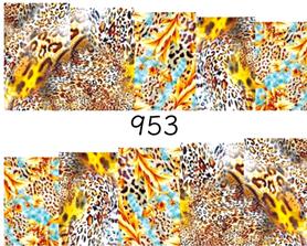Naklejki wodne na paznokcie - 953
