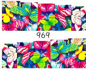 Naklejki wodne na paznokcie - 969