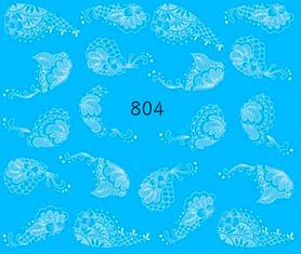 Naklejki wodne na paznokcie - 804