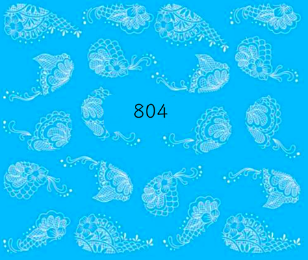 Naklejki wodne na paznokcie - 804 (1)