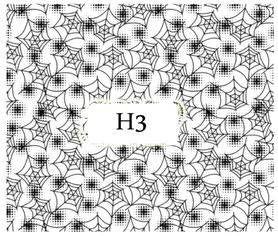 Naklejki wodne na paznokcie - H3
