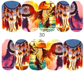 Naklejki wodne na paznokcie - 30