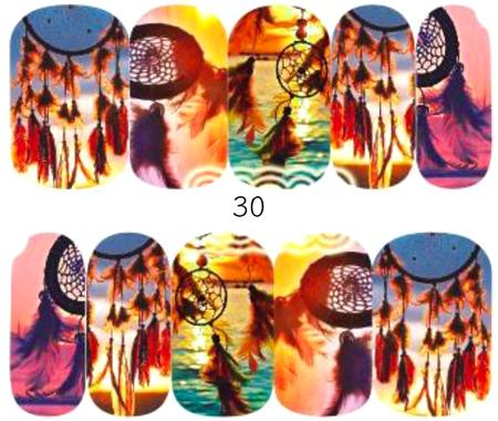 Naklejki wodne na paznokcie - 30 (1)
