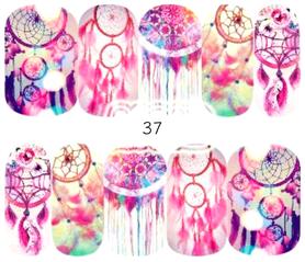 Naklejki wodne na paznokcie - 37