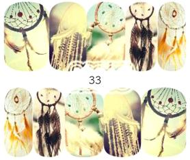 Naklejki wodne na paznokcie - 33