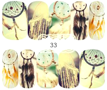 Naklejki wodne na paznokcie - 33 (1)