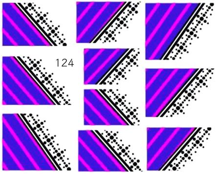 Naklejki wodne na paznokcie - 124 (1)