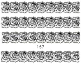 Naklejki wodne na paznokcie - 157