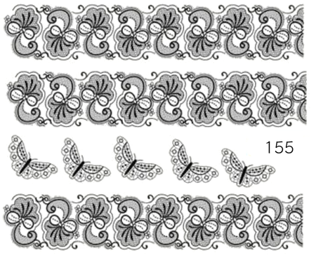 Naklejki wodne na paznokcie - 155 (1)