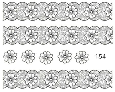 Naklejki wodne na paznokcie - 154 (1)