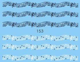 Naklejki wodne na paznokcie - 153