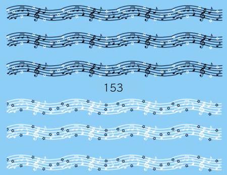 Naklejki wodne na paznokcie - 153 (1)