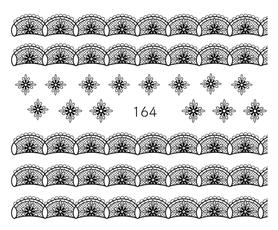 Naklejki wodne na paznokcie - 164