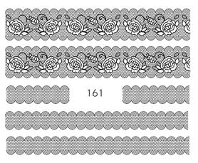 Naklejki wodne na paznokcie - 161