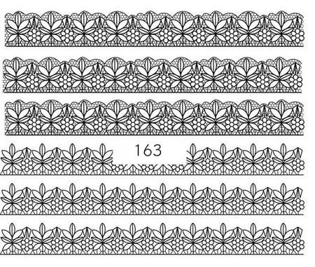 Naklejki wodne na paznokcie - 163 (1)