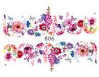 Naklejki wodne na paznokcie - 806 (1)