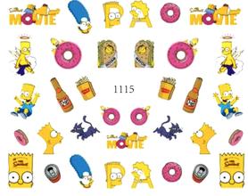 Naklejki wodne na paznokcie-1115