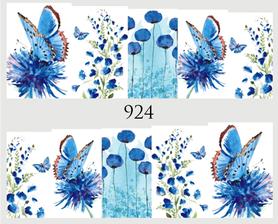 Naklejki wodne na paznokcie - 924