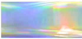 Folia transferowa - Srebrna - holograficzna