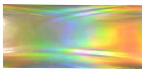 Folia transferowa - Złota - holograficzna