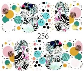 Naklejki wodne na paznokcie - 256