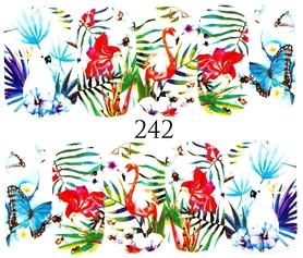 Naklejki wodne na paznokcie - 242