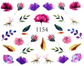 Naklejki wodne na paznokcie - 1154