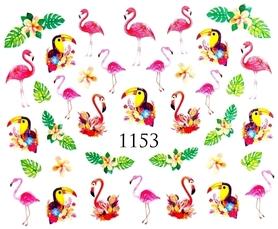Naklejki wodne na paznokcie - 1153