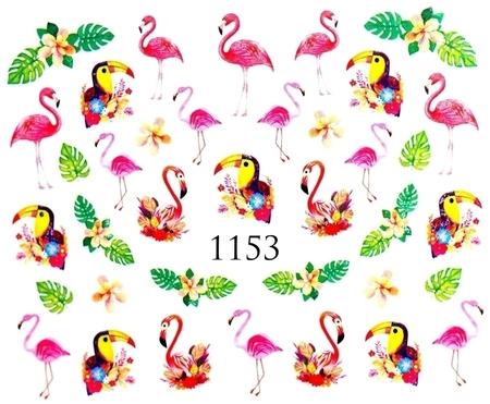 Naklejki wodne na paznokcie - 1153 (1)