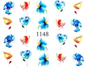 Naklejki wodne na paznokcie - 1148