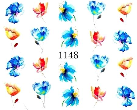 Naklejki wodne na paznokcie - 1148 (1)