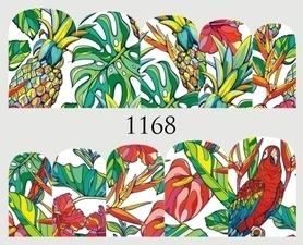 Naklejki wodne na paznokcie - 1168